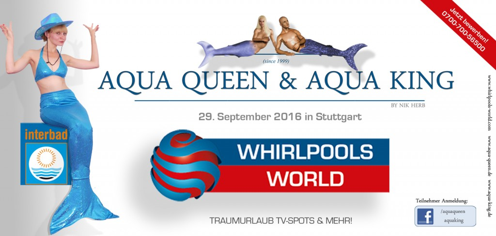 Aqua Queen Aqua King Werbung